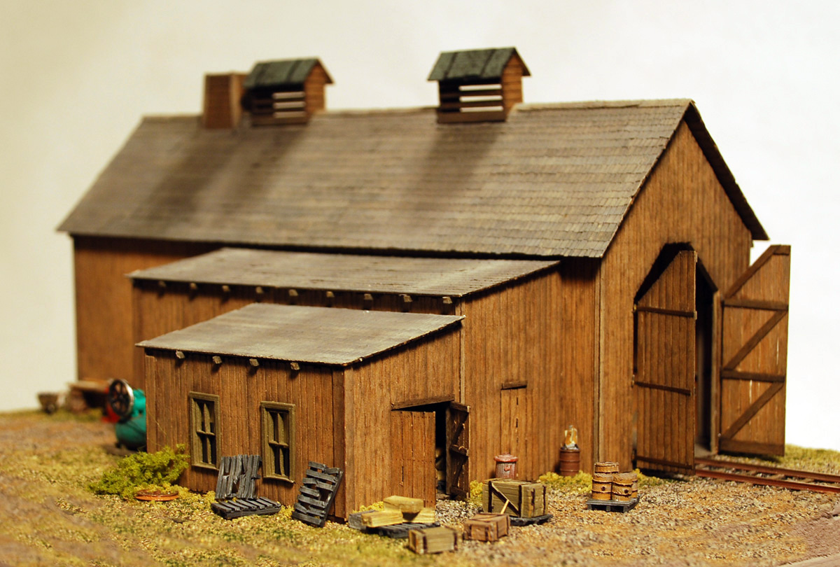 Model Railroad Fine Craft Kits By Builders In Scale Ho