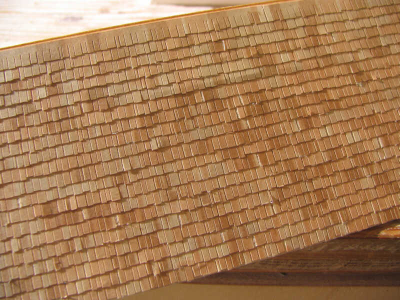Truewood Shake Shingles Ho Scale